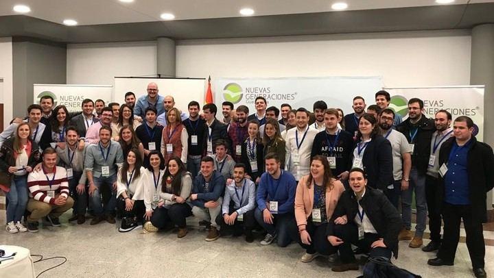 El nuevo equipo de NNGG de Guadalajara se pone en marcha para liderar un proyecto con el que quiere reforzar e impulsar la organización