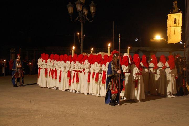 Yunquera de Henares celebrará el Viernes Santo la multitudinaria procesión del Santo Entierro y de las Antorchas