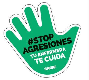 """""""#StopAgresiones. Nada justifica una agresión"""", nueva campaña de SATSE"""