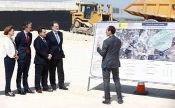 Rajoy presenta inversiones millonarias en infraestructuras como muestra del compromiso del Gobierno con Castilla-La Mancha