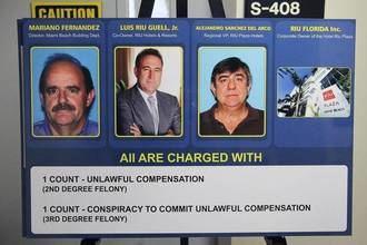 El español Luis Riu, propietario de los hoteles Riu, detenido en Miami por un supuesto soborno