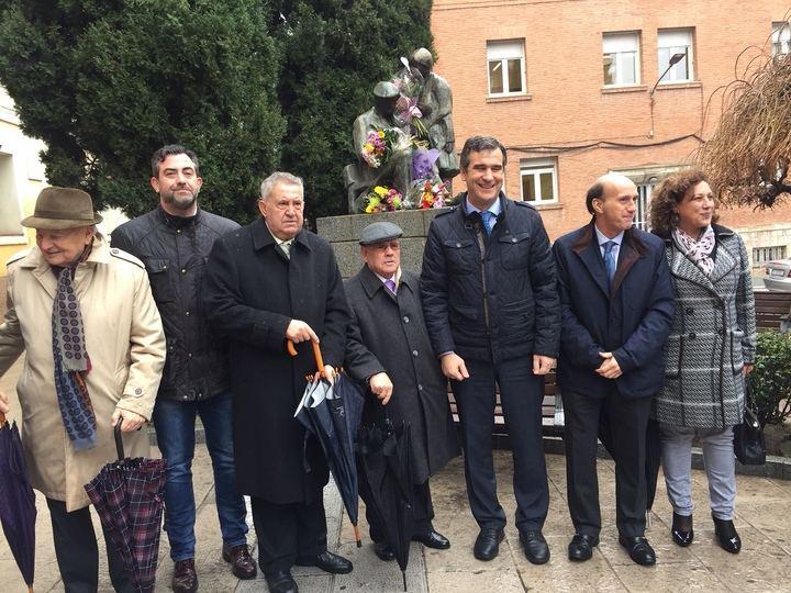 El presidente de la Diputación de Guadalajara felicita a la Asociación de Pensionistas y Tercera Edad en el día de su patrón