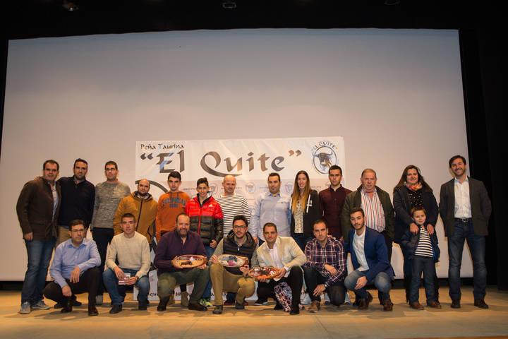 La Peña Taurina 'El Quite' entregó los premios de su XIV Concurso de Fotografía Taurina