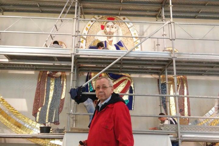 Presentacion de la obra iconográfica de la parroquia El Salvador de Guadalajara