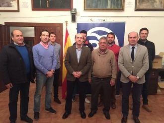 Pedro Loranca, nuevo presidente de la Junta Comarcal del Partido Popular en la zona de Atienza