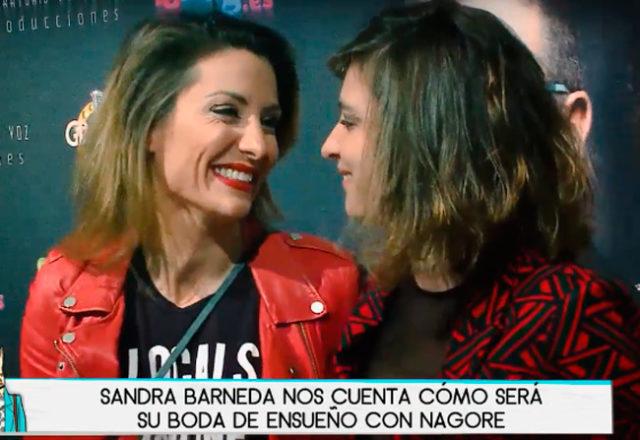 SEMANA Sandra Barneda y su plan de boda con Nagore