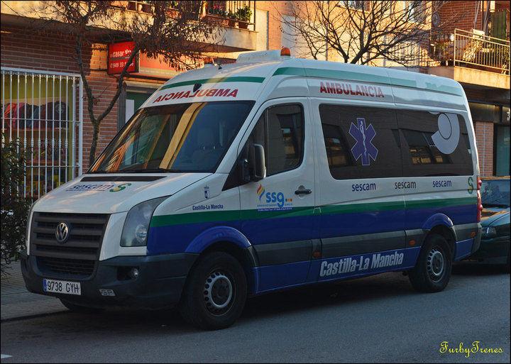 UGT afirma que la situación del Servicio de Ambulancias en Guadalajara va a ir de mal a peor
