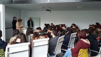 La Universidad de Alcalá de Henares visita el Centro de Emprendedores de Almonacid