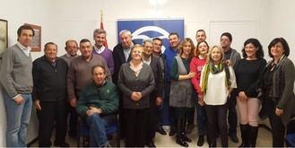 Juan Pedro Sánchez Yebra renueva como presidente de la Junta Local del PP de Yebra