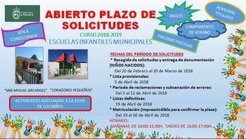 Abierto el plazo de solicitud de plaza en las Escuelas Infantiles Municipales en Alovera
