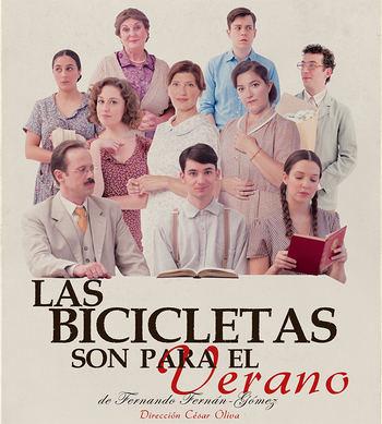 'Las bicicletas son para el verano', un clásico contemporáneo del teatro español en el TABV