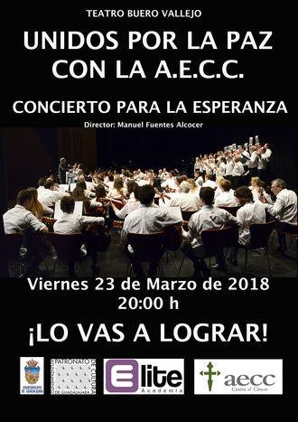 El 'Concierto para la Esperanza' quiere llenar el Teatro Buero Vallejo