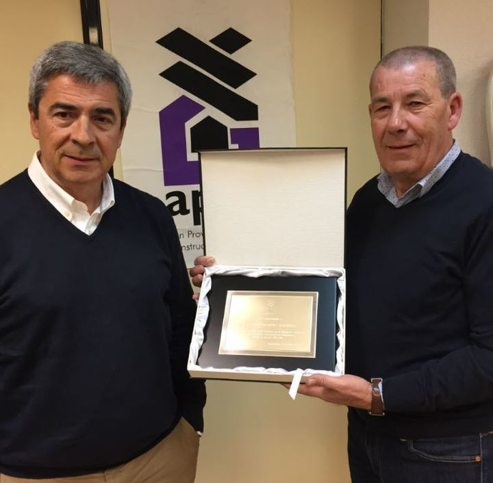 Emilio Díaz, nuevo presidente de la Asociación de Empresarios de la Construcción de Guadalajara