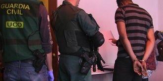 La Guardia Civil desmantela una rama de la mafia nigeriana de trata de seres humanos con ramificaciones en Guadalajara