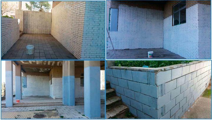 Eliminadas numerosas pintadas y grafitis en distintas zonas de la ciudad