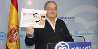 """De las Heras afirma que """"el PP nunca congelará las pensiones"""" y recuerda que """"el partido de Page sí lo hizo"""""""