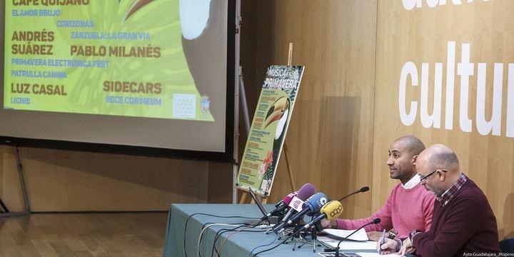 """Mayumana, Café Quijano, Luz Casal y Pablo Milanés, algunos de los artistas de """"Música en Primavera"""""""