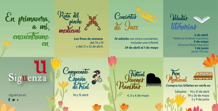 'A mi Encuéntrame en Sigüenza', nueva campaña turística de la Ciudad del Doncel para esta primavera