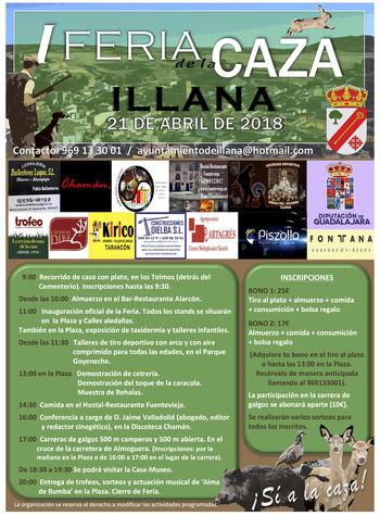 Illana ultima los preparativos para la celebración de su I Feria de la Caza
