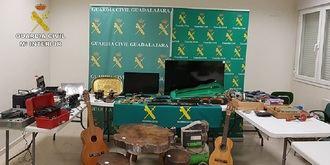 La Guardia Civil detiene a seis personas relacionadas con robos en comercios y viviendas de Sigüenza