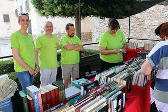 Fuentenovilla celebró este fin de semana la VI Edición de su Mercadillo del Libro de Ocasión