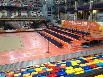 Este martes comienzan a llegar a Guadalajara las participantes del Campeonato de Europa de Gimnasia Rítmica