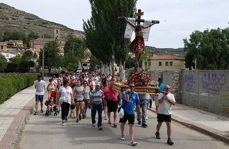 Lupiana celebra la romería del Santo Cristo del Socorro