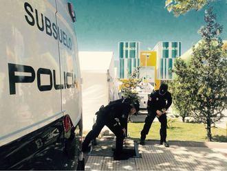 La Policía Nacional finaliza el dispositivo de la Copa del Mundo de Gimnasia Rítmica en Guadalajara
