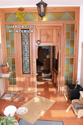La Guardia Civil detiene a seis personas por robo con violencia e intimidación en una vivienda de Loranca de Tajuña
