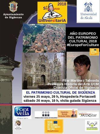 El Patrimonio Cultural de Sigüenza, en el Año del Patrimonio Cultural Europeo
