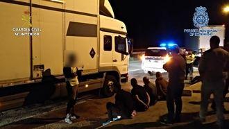 Desarticulan en Torija un grupo criminal dedicado al robo de camiones y mercancías