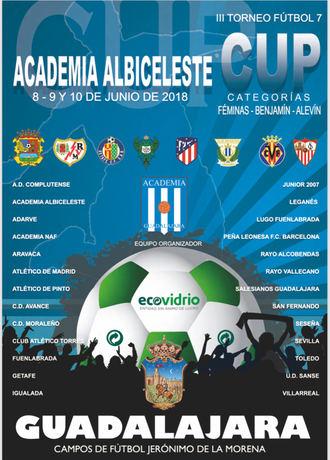 El CD Academia Albiceleste celebra el III Torneo Academia CUP
