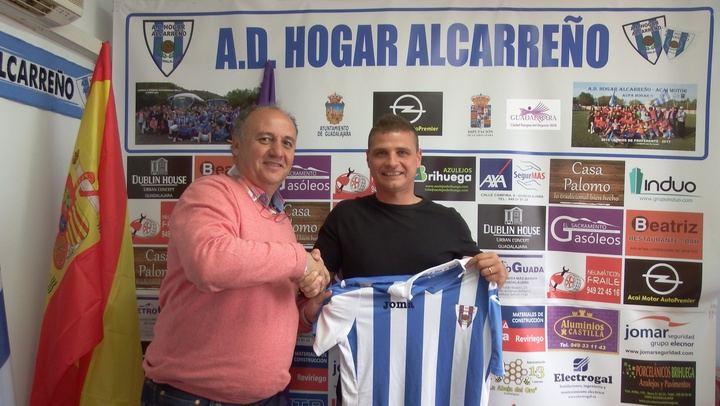 Aitor Gómez, nuevo entrenador del Hogar Alcarreño