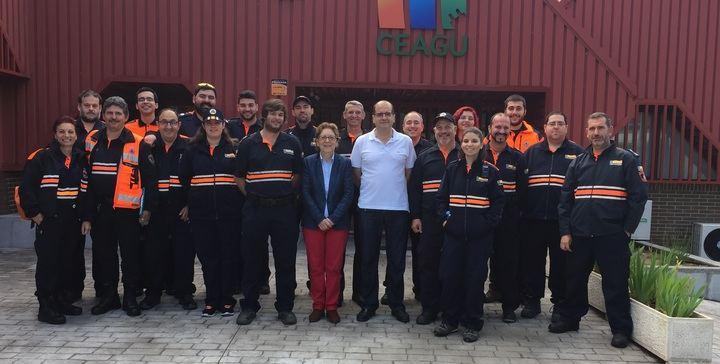 Voluntariado de 11 agrupaciones de Protección Civil de Guadalajara ha recibido formación sobre gestión de los Grupos de Apoyo Logístico
