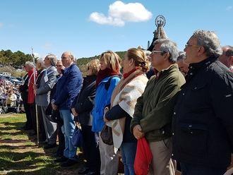 El presidente de la Diputación, José Manuel Latre, participa en la Marcha Diocesana a la Virgen de la Salud de Barbatona