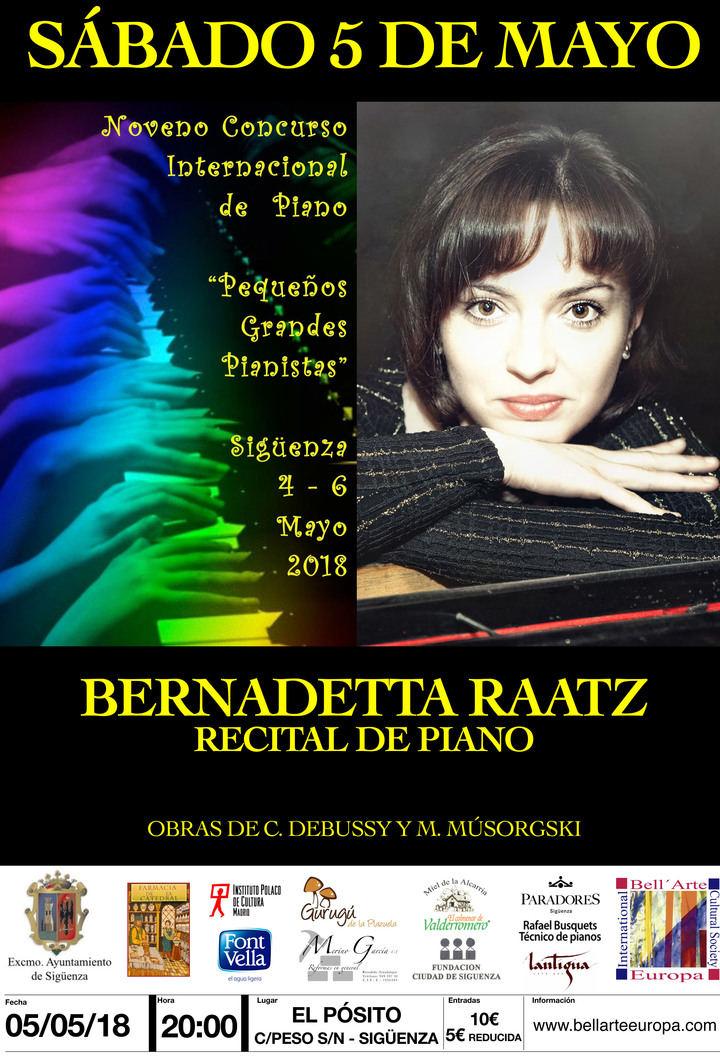 Este fin de semana, IX Concurso 'Pequeños grandes pianistas' en Sigüenza