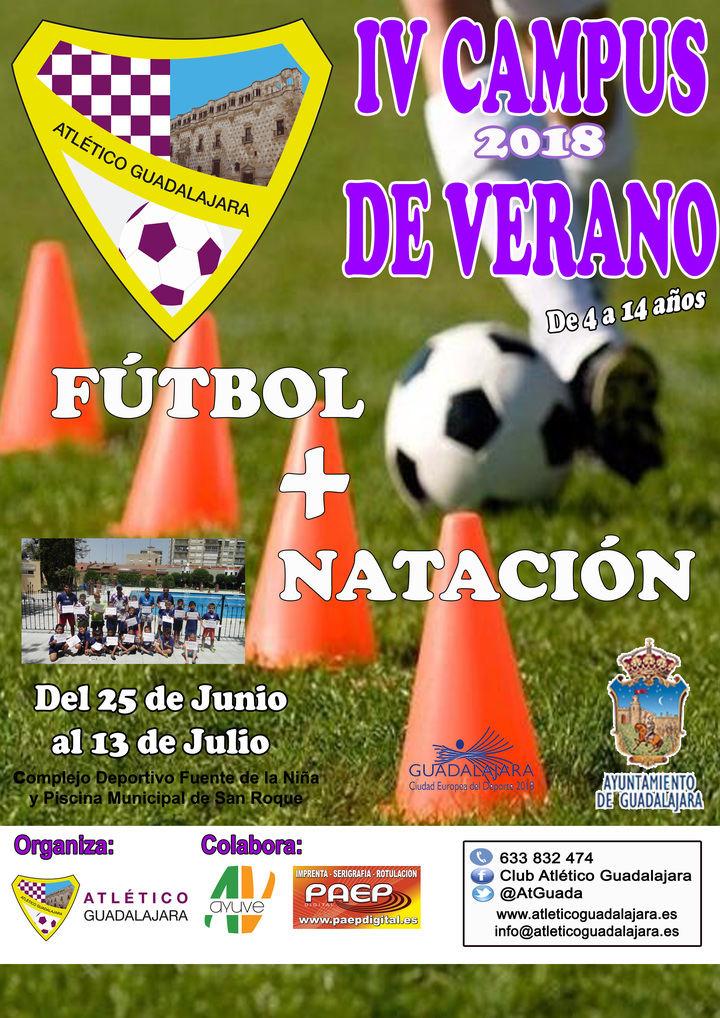 Ya está abierto el plazo de inscripción para el Campus de Verano del Atlético Guadalajara