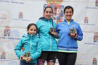 Juan Antonio Muñoz y Esther Tabernero, vencedores de la XIV Carrera Ciudad del Doncel en la modalidad de 10 kilómetros