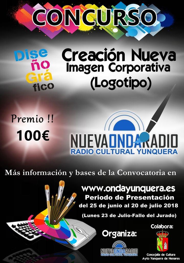 Nueva Onda Radio Yunquera convoca un concurso para el diseño de su nuevo logotipo que la represente y sea su nueva imagen corporativa