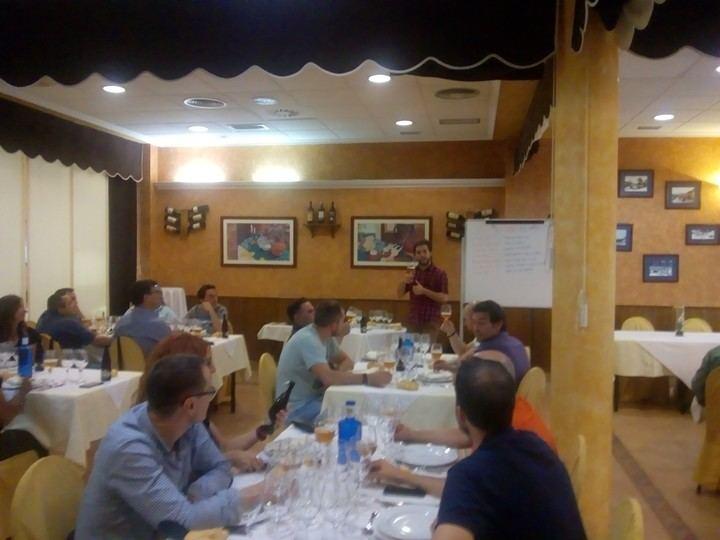 """Una nueva actividad de Cata y Análisis Sensorial se ha llevado a cabo en el Restaurante """"El Fogón del Vallejo"""""""