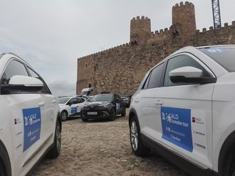 Sigüenza acoge a los participantes del ALD Ecomotion Tour