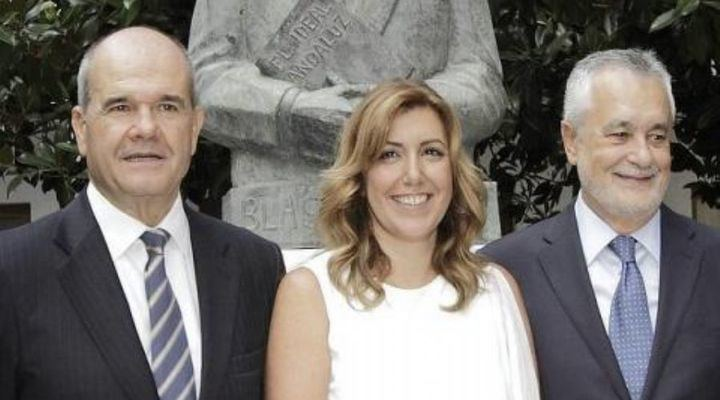 Reveladoras declaraciones de la testigo clave del caso ERE: Chaves y Griñán tenían 'información puntual' y recibió una 'llamada intimidatoria' del entorno de Susana Díaz