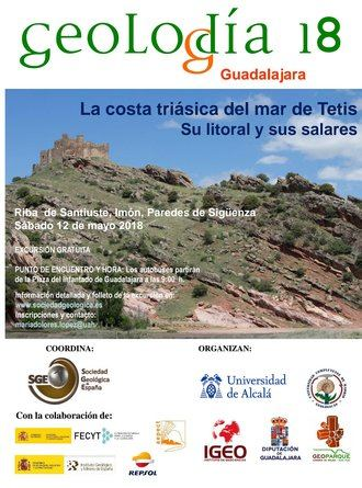 La Diputación colabora con el Geolodía que tiene lugar este sábado entre Riba de Santiuste, Imón y Paredes de Sigüenza