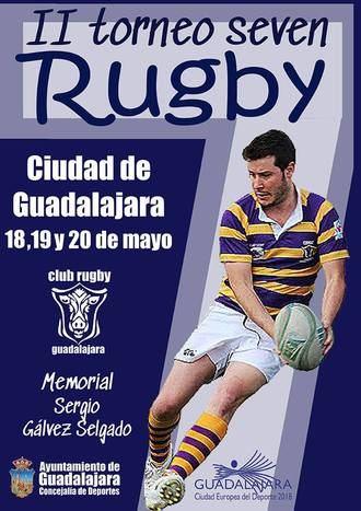 Este fin de semana, II Tornero de Rugby Seven Guadalajara-Memorial Sergio Gálvez
