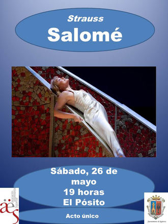 Este sábado, la iniciativa 'Vive la Opera' en Sigüenza proyectará Salomé, de Richard Strauss