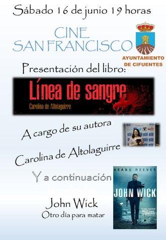 """Carolina de Altolaguirre presenta su libro """"Línea de sangre"""" en Cifuentes"""