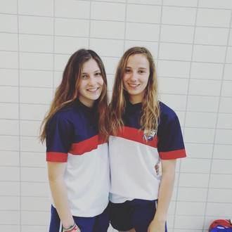 Las nadadoras alcarreñas Elsa López y Miriam Martínez, oro en Coimbra
