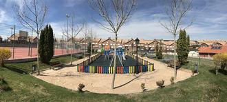 Concluidos los trabajos de actualización en el Parque Ermita de la Soledad de Quer