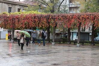 Guadalajara comienza la semana con descenso de las temperaturas, cielos nubosos y lluvias generalizadas