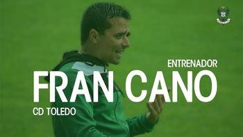 Fran Cano, nuevo entrenador del Club Deportivo Toledo